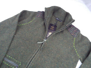 HOLLAND ESQUIRE Zipped Cardigan 🌍 Size S 🌎 RRP £95+ 📮 WORLDWIDE FREEPOST
