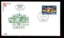 Austria 1991 Grein Town Charter FDC #C3041