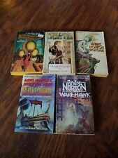 Lot of 5 Andre Norton paperbacks, The Shadow of Albion, Magic in Ithkar, Iron Ca