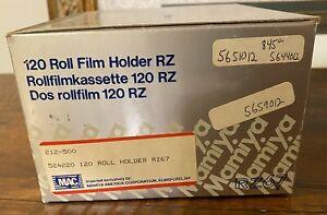 Brand New Mamiya RZ67 Pro 120 Roll Film Back Holder From Japan