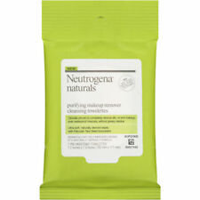 Pack of 3, Neutrogena Naturals -Purifying MakeUp Remover Cleansing -7 Wipes