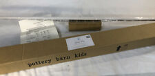 "Pottery Barn Kids Metal Component Window Curtain Rod 48-88"" White NEW NO FINIAL"