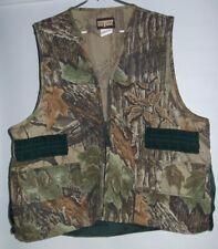 Saftbak Hunting Shooting Vest Large Realtree Camo Gamebag On Back