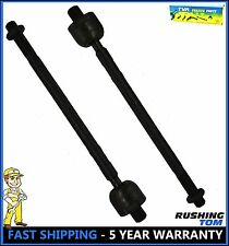 2 (Pair) Front Left Right Inner Tie Rod End For 95-99 Hyundai Accent