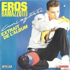 vinyle Eros Ramazzotti 45t Original disque single 1980 musique italienne