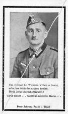 STERBEBILD  AVIS DE  DECES  SOLDAT  ALLEMAND  1944    ( 183 )