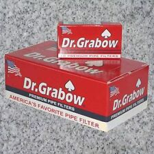 DR. GRABOW  PIPE FILTERS -  12 BOXES OF 10 FILTERS EACH