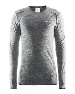 Functional Shirt Sports Shirt CRAFT Active Comfort Ls, Men's, Long Sleeves, Grey