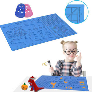 Basic Template Silicone Design Mat Drawing Tool For 3D Printing Pen Useful TOP