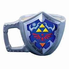 Official The Legend of Zelda 3D Sculpted Shield Coffee Mug - Boxed Nintendo