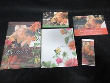 au plus pres du Paradis Japan Film Program Book w Ticket Flyer Catherine Deneuve