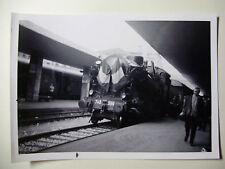 IT558 - 1972 FS ITALIA ITALIAN RAILWAY - STEAM LOCOMOTIVE No743-396 PHOTO Italy
