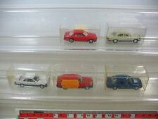 L56-0,5# 5x Wiking H0, Mercedes MB, 230 TE, 500 SE, 260 E, 300 CE, TOP+4xOVP