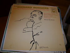 RICHARD RODGERS CONDUCTING THE PHILHARMONIC SYMPHONY ORCHESTRA NEW YORK-LP-NM