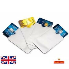 ⭐✅5 RFID Blocking Sleeve Credit Card Protector Holder Wallet Contactless UK 24✅⭐