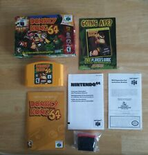Donkey Kong 64 Collectors Edition Yellow Game Pak Complete CIB w Expansion Pack