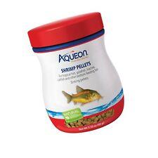 Aqueon Shrimp Pellets Fish Food for Tropical Fish Goldfish Loaches Catfish 6 oz