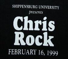 Xl * vtg 90s Chris Rock comedy Crew Shipensburg University Pa t shirt * rap