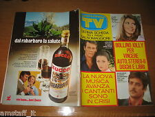 TV SORRISI E CANZONI=1973/19=JAMES BOND 007=LAURA BELLI=JET=GIANCARLO GIANNINI=