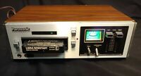Clean, Panasonic Rs-805US Stereo 8 Track Tape Deck Player Recorder, For Repair