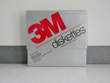 3M Diskettes 5 1/4 Floppy Disk Box of 10 SS DD Single Side New Sealed