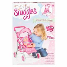 Snuggles Deluxe Dolls Buggy, Collapsible Stroller for Kids TY6101