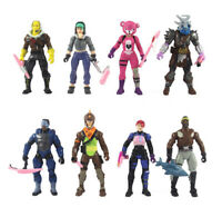 8pc/Set Fortnite Battle Royale Season 8 PVC Action Figure Display Playset Toy XZ