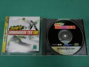 Sega Saturn -- Zap Snow Boarding Trix '98 -- *JAPAN GAME !!* SS. 19235