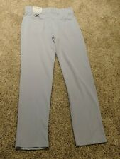 "Nwt Easton Rival Adult Men's Baseball Pants Open Cuff Gray Size M 32""- 34"""