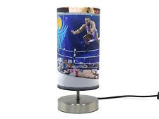 WWE Wrestling Lamp lampshade Boys Bedroom Bedside Table Desk Lamps Night Light