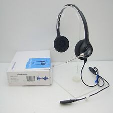 388fc1c6a5d Plantronics HW261 SupraPlus Binaural Wideband Voice Tube QD Headset for  AP15 M22