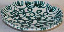 Gmundner Keramik  Obstteller/schüssel, grün geflammt,  neu