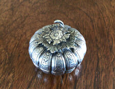Vintage Cambodian Shaped Silver Metal Betel Nut Boxes