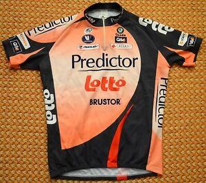 Predictor Lotto, Belgium, Mens cycling Shirt by Vermarc, Size XXL, 2XL Ridley