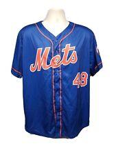 2017 New York Mets Jacob deGrom #48 Adult Blue XL SGA Jersey