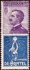 Regno - 1924/25 - Pubblicitario - cent.50 DE MONTEL - N.12 - nuovo (MNH)