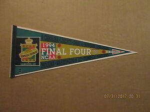 NCAA Final Four Vintage 1994 US AIR ARENA LANDOVER,MD Logo Basketball Pennant