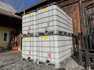 IBC Container Tank Fass Wassertank Kanister 1000 Liter Regentonne IPC