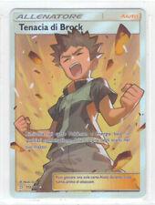 POKEMON Tenacia di Brock 172/181 Ultra Rara Gioco di Squadra Italiano