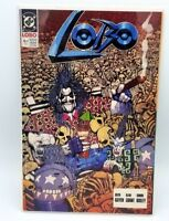 Lobo #4 Feb 1991 NM DC Comics Comic book Comicbooks Original Mini Series