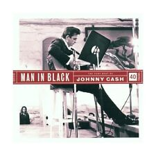 CD Johnny Cash man in black (doppio disco) 5099750634523