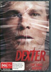Dexter The Final Season DVD NEW Region 4