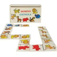 ds Gioco Tavolo Società Domino Animali Con Scatola In Legno Giochi Di Carte dfh