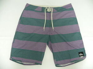 "Quiksilver Brigg Scallop 20"" Assorted Boardshorts Shorts Sz 32 Surf"