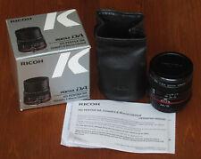Pentax HD Pentax DA 35mm F/2.8 Macro Limited Lens Black (Exc, Boxed, for APS-C)