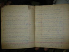 INDIA RARE - HAND WRITTEN NOTE BOOK IN URDU CONTAIN ABOUT 20 PAGES