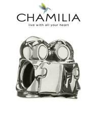 Genuine chamilia 925 plata encanto grano Carolers de Navidad, GA-146