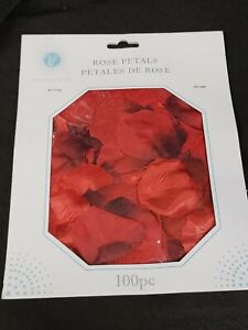 100pcs Silky Artificial Rose Petals Colorful Wedding Romantic silk Rose Flower