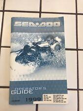 1999 Seadoo Operator's Guide