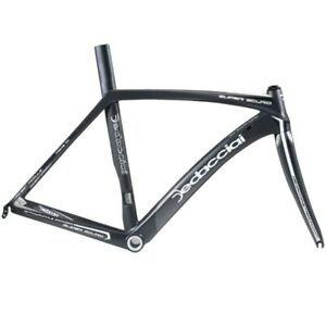 New Dedacciai Strada Carbon Super Scuro Road Bike Frameset - L, Black